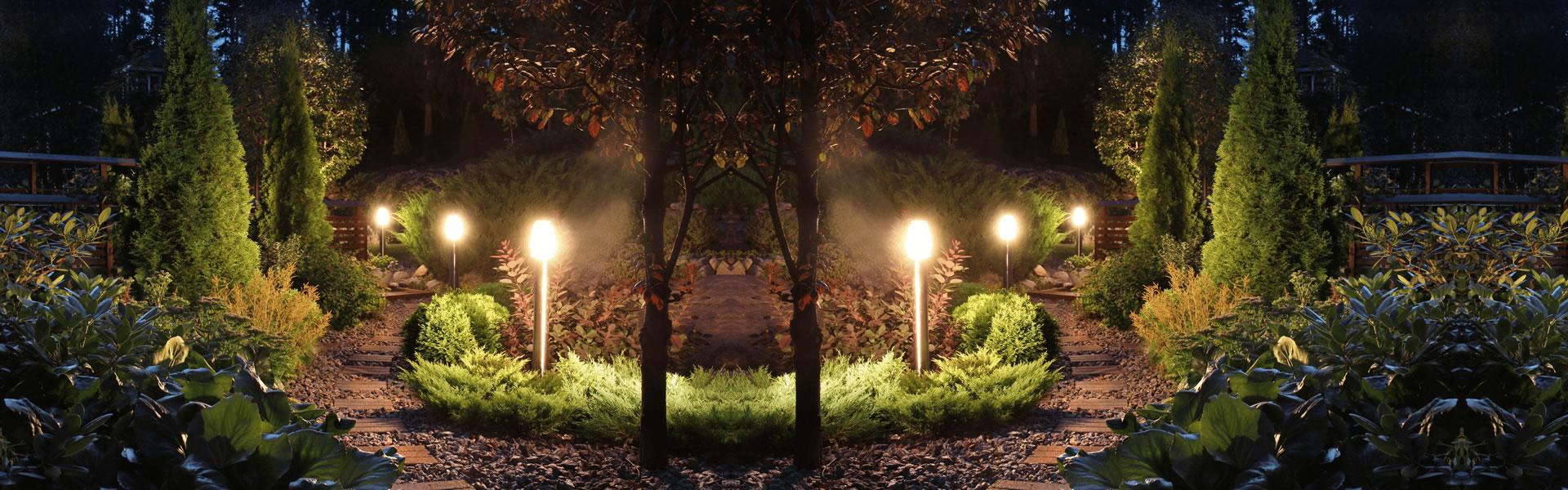 Aussenleuchten Lichttrends